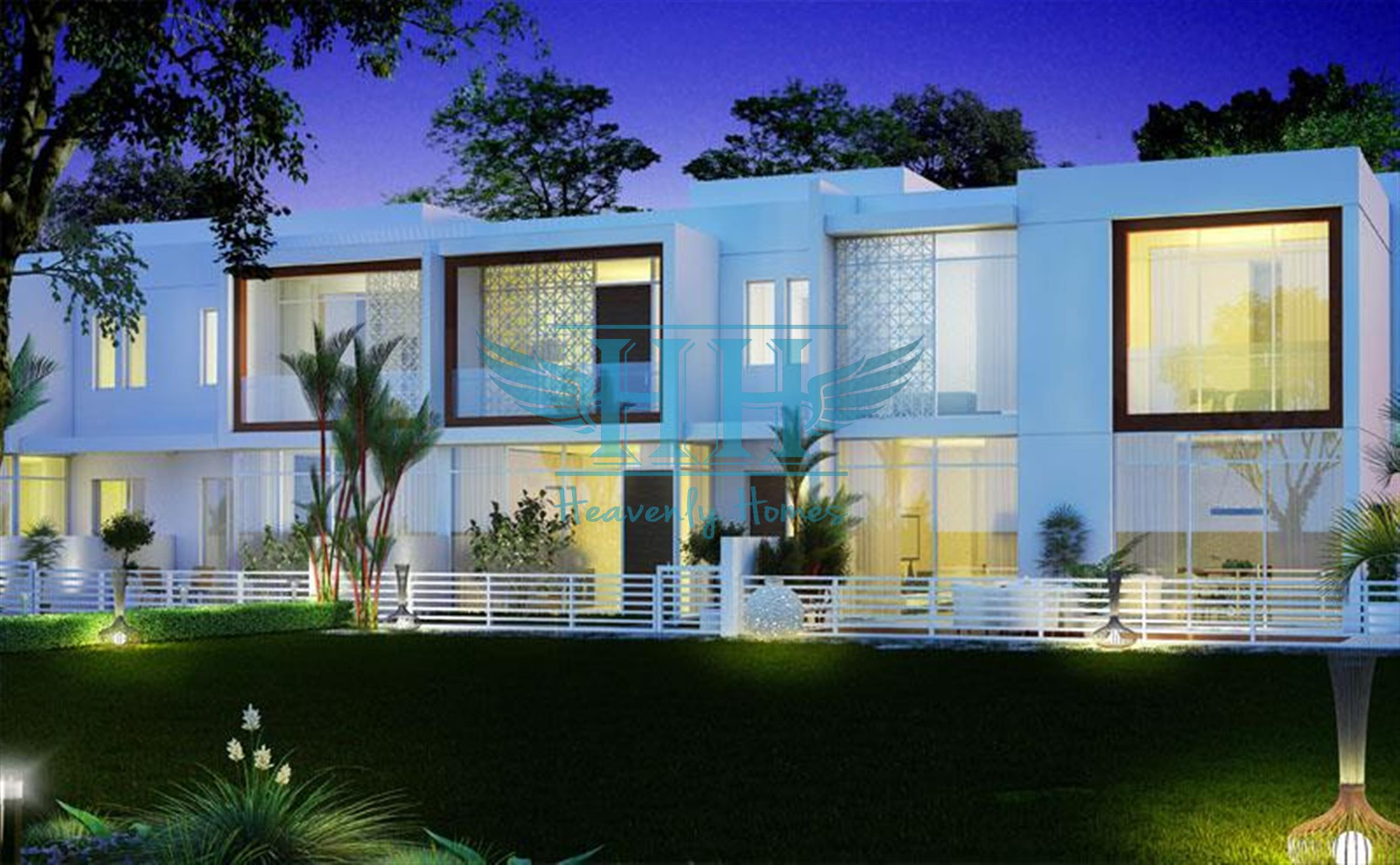 Off-Plan 3 BR Semi Detached TownHouse At Arabella Mudon by Dubai Properties