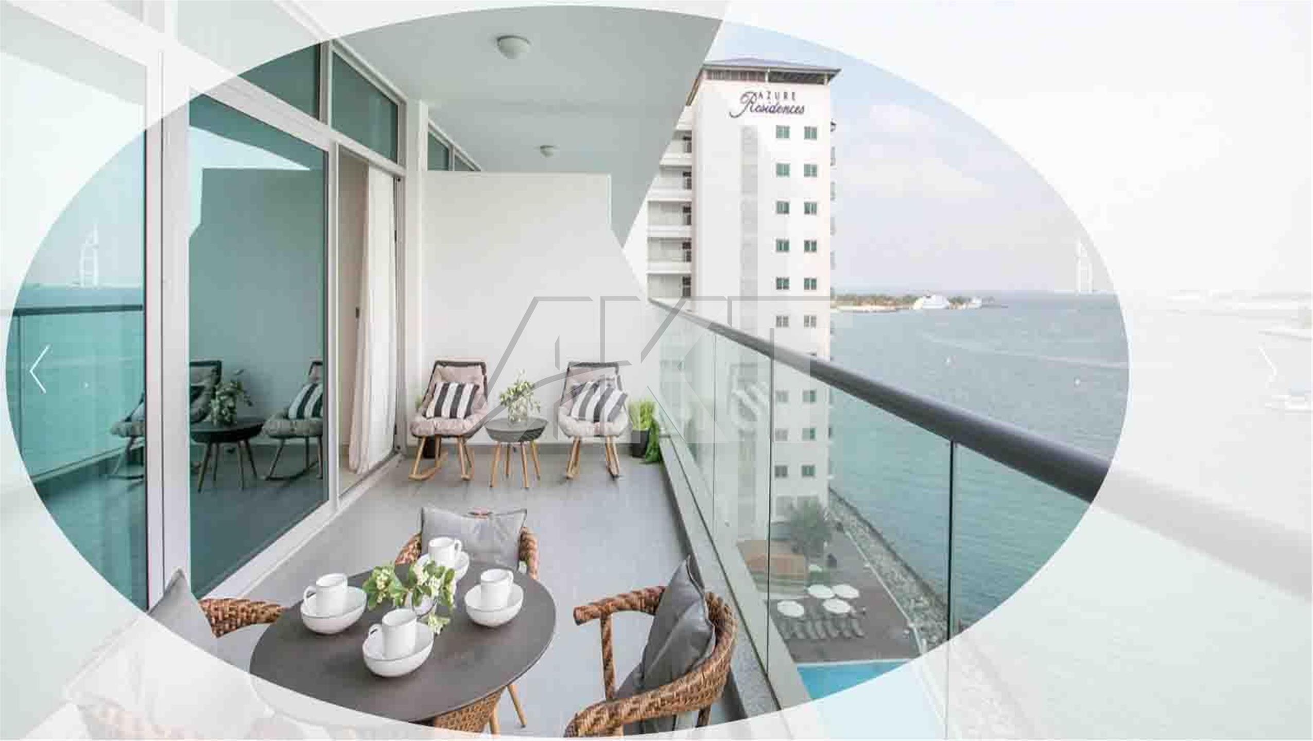 Luxury beachfront apartments on Palm Jumeirah
