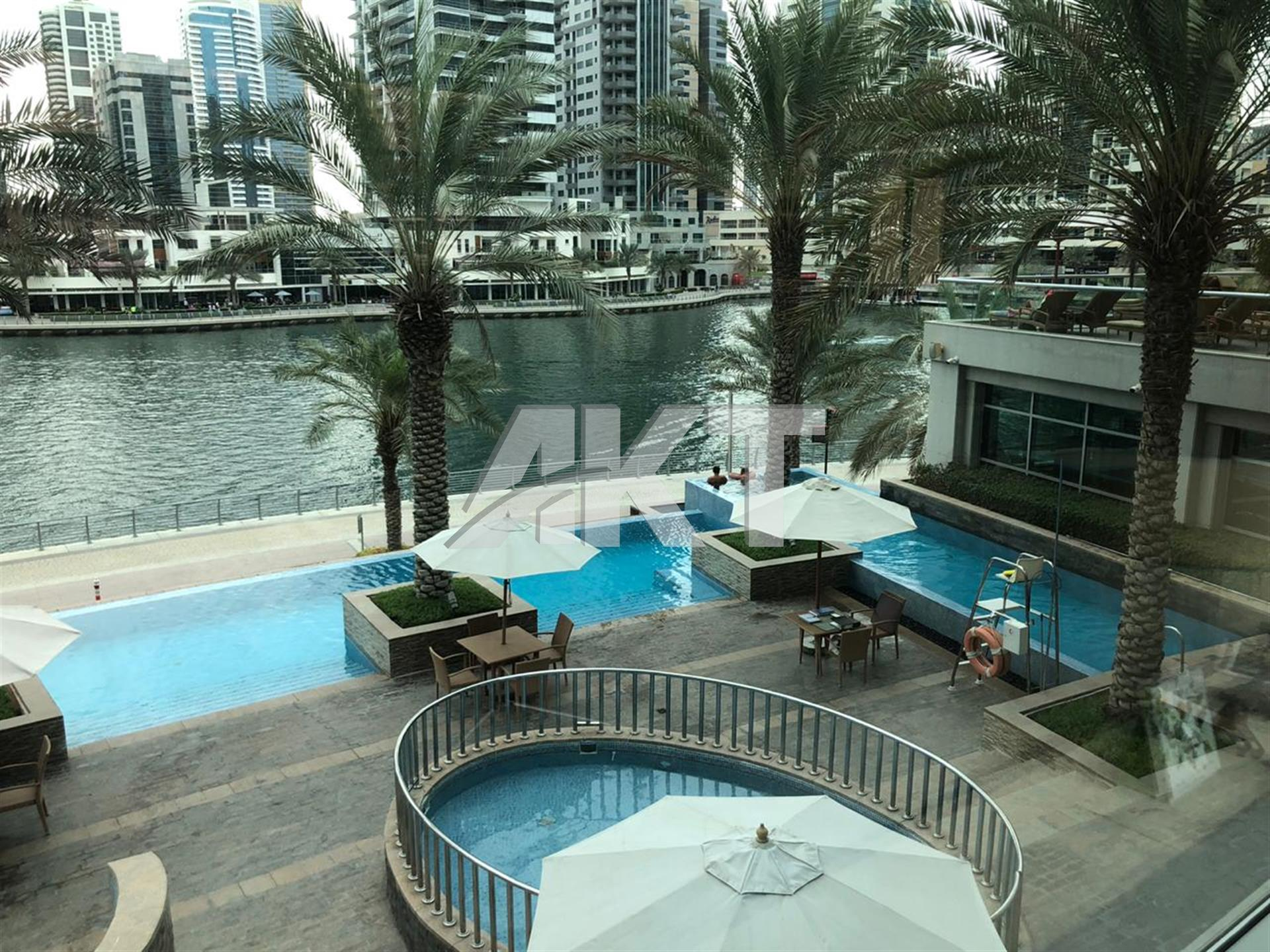 75 K / PARK ISLAND / MARINA / ONE BED / 950 SQFT / BALCONY