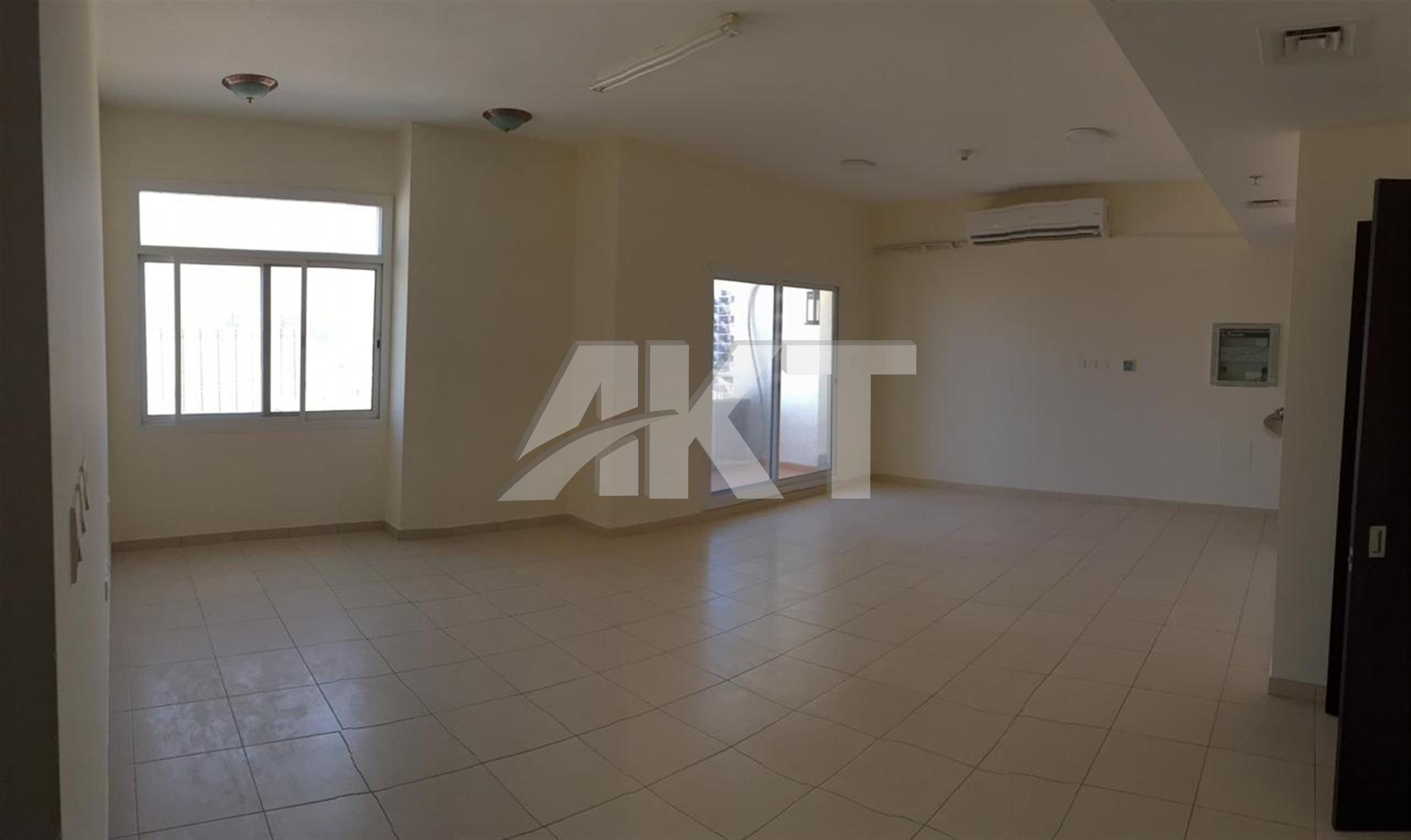 55 K / high floor / 3 Br / Nice Lay out / Direct Access to Emirates Road