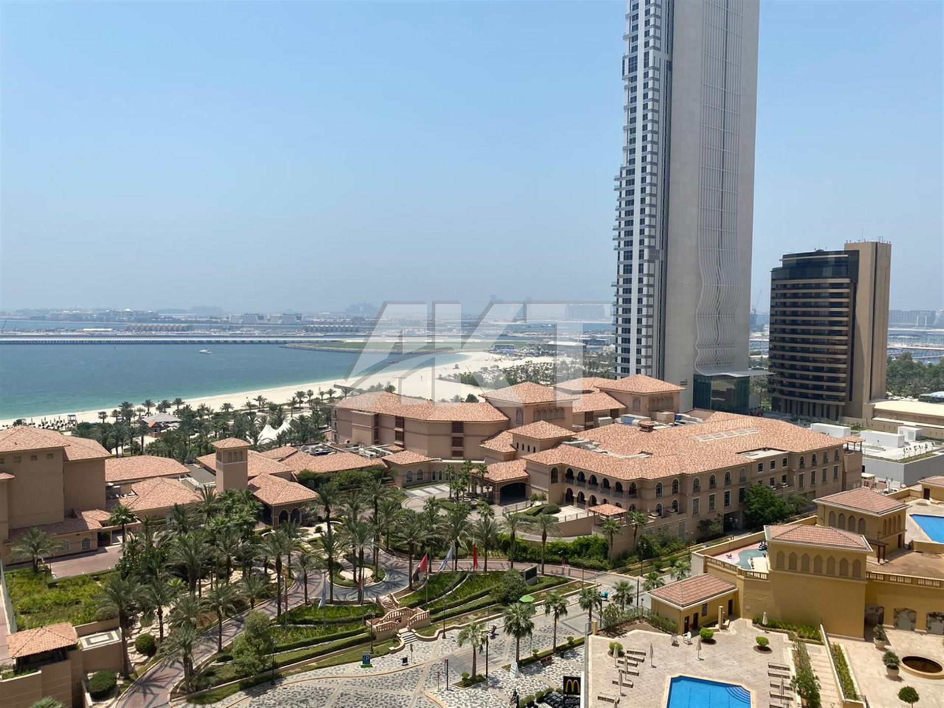 89 K / Full Sea View / 2 Beds / Ready to Move / Sadaf 7 / JBR