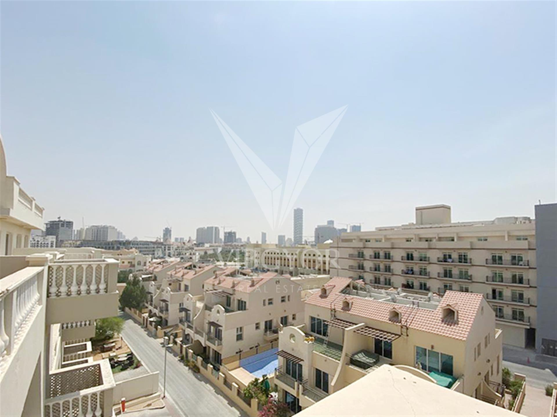 Terrace Apartment | Vacant and Furnished 2BR