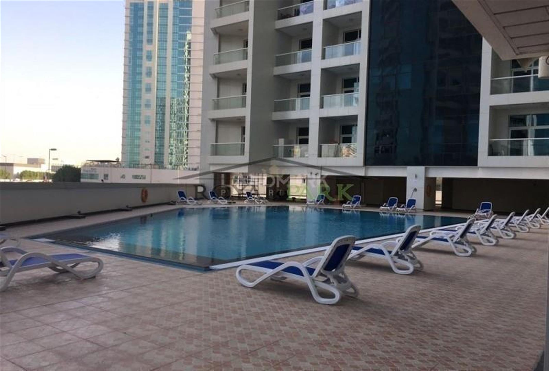 1 Bedroom With Spacious Balcony In Tecom, Dubai, Uae