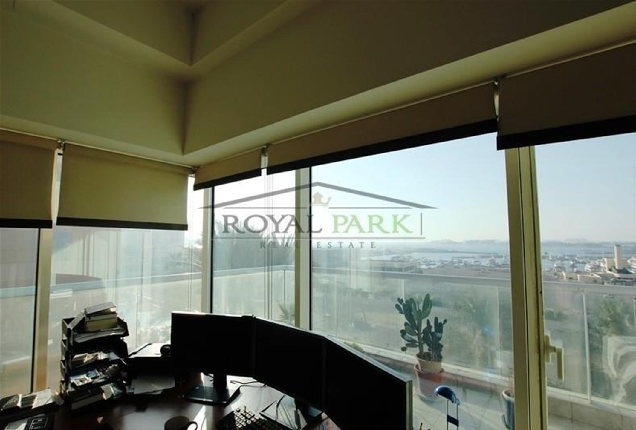 BEST PRICE for SEA VIEW in Emirates Crown, 2BR+Maid's