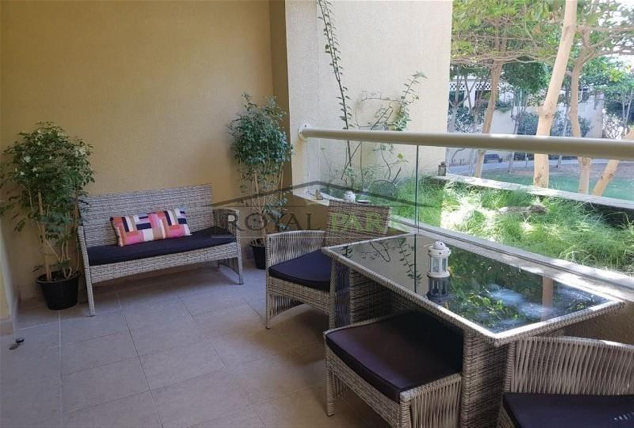 Full Parkgarden View1br  Abu  Khebal 90k