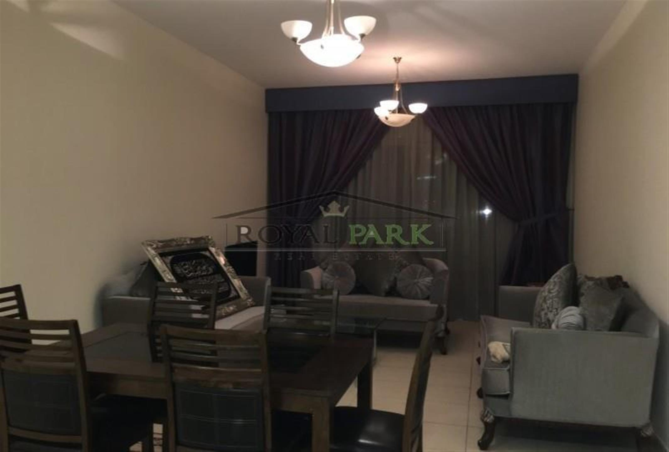 Vacant Large 1bhk At Emirates Garden Jvc