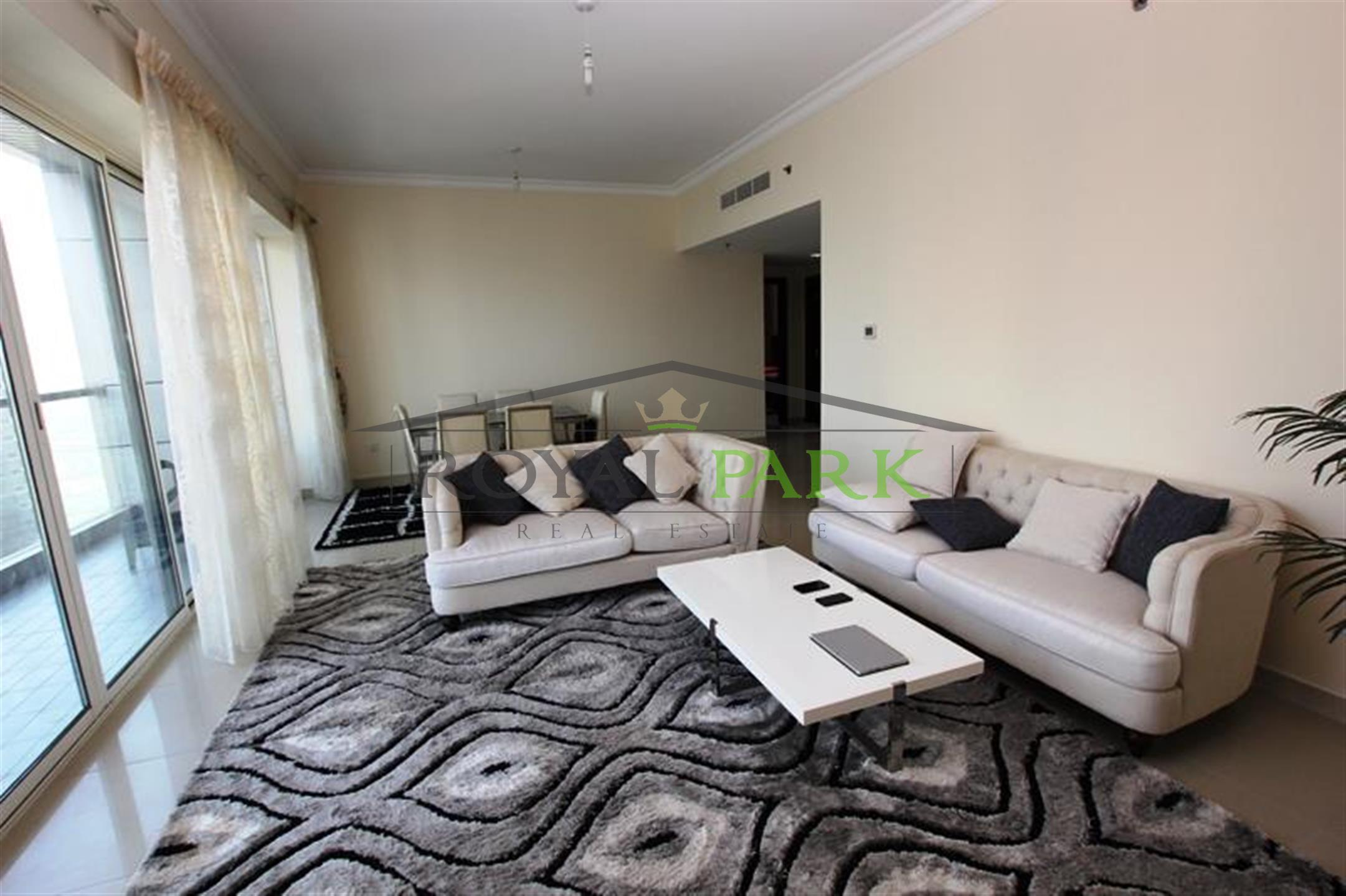 1,700 Sq.Ft. Furnished 2br+Balcony In V3 Tower, Jlt.