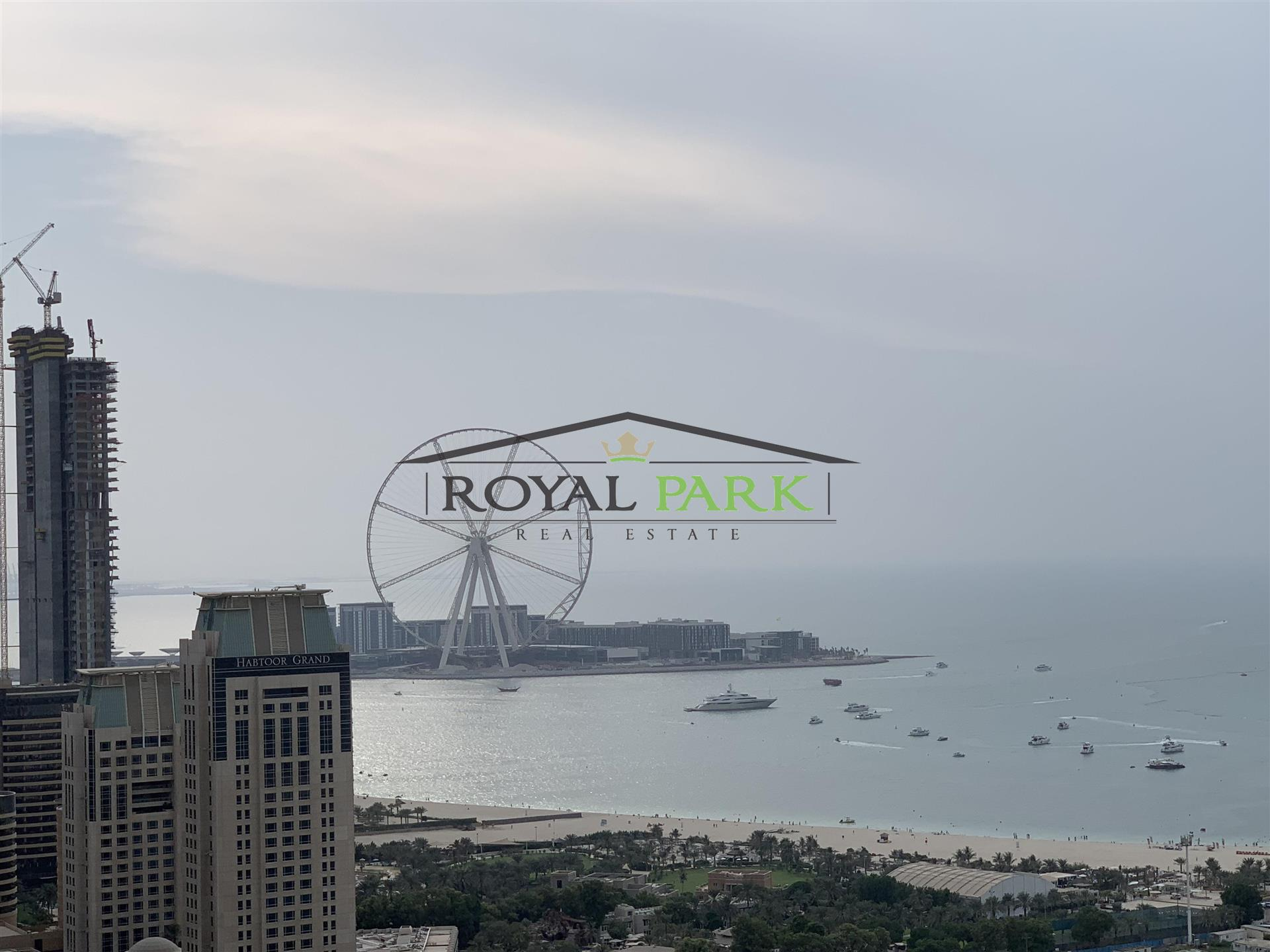 Full Sea View - 2br For Sale In Princess Tower Dubai Marina