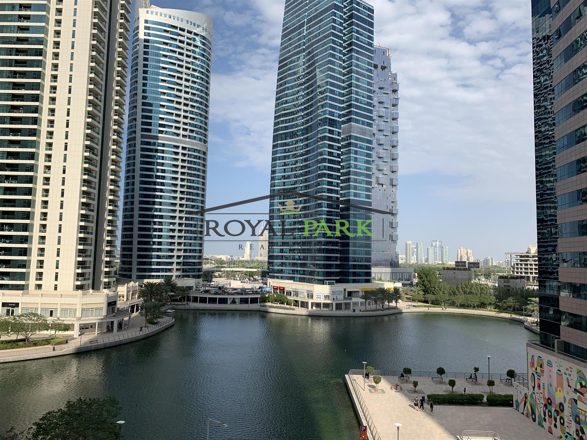 FULL LAKE VIEW - 1BR With Storage In Golcrest Views 1 JLT