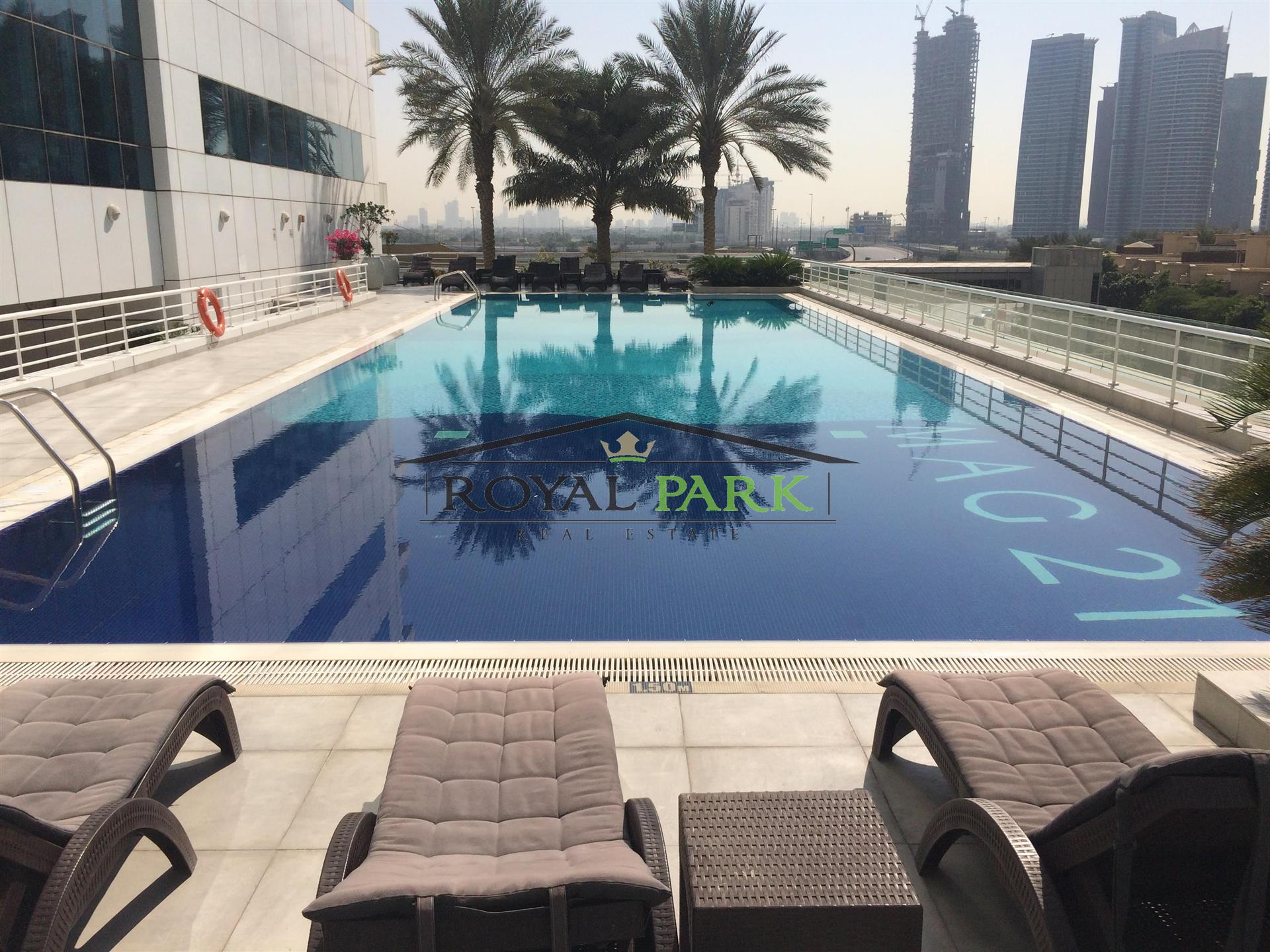 Pool View 1br In Mag 218 Dubai Marina