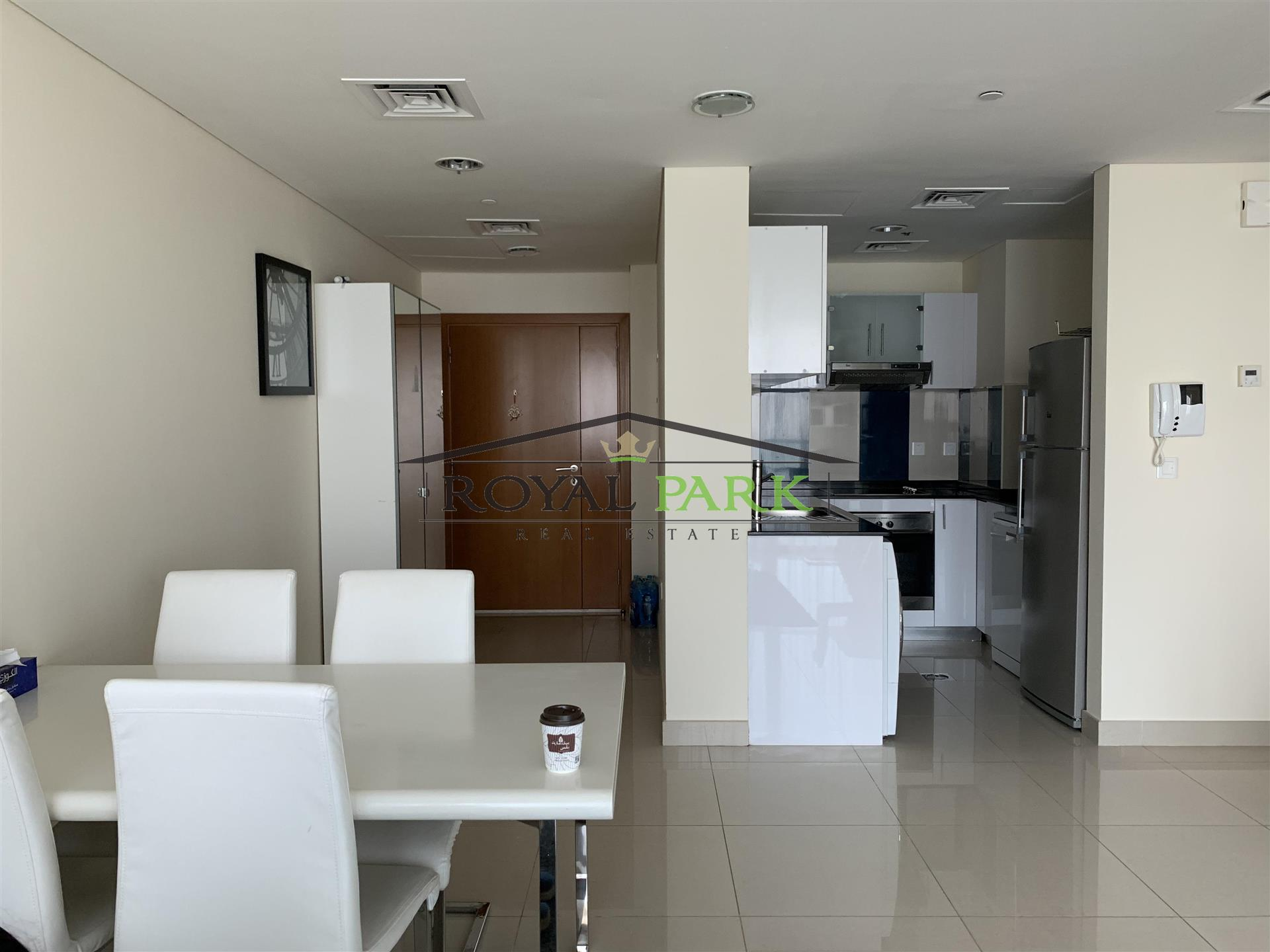 Fully Furnished - 1br On A High Floor In Ocean Heights Dubai Marina