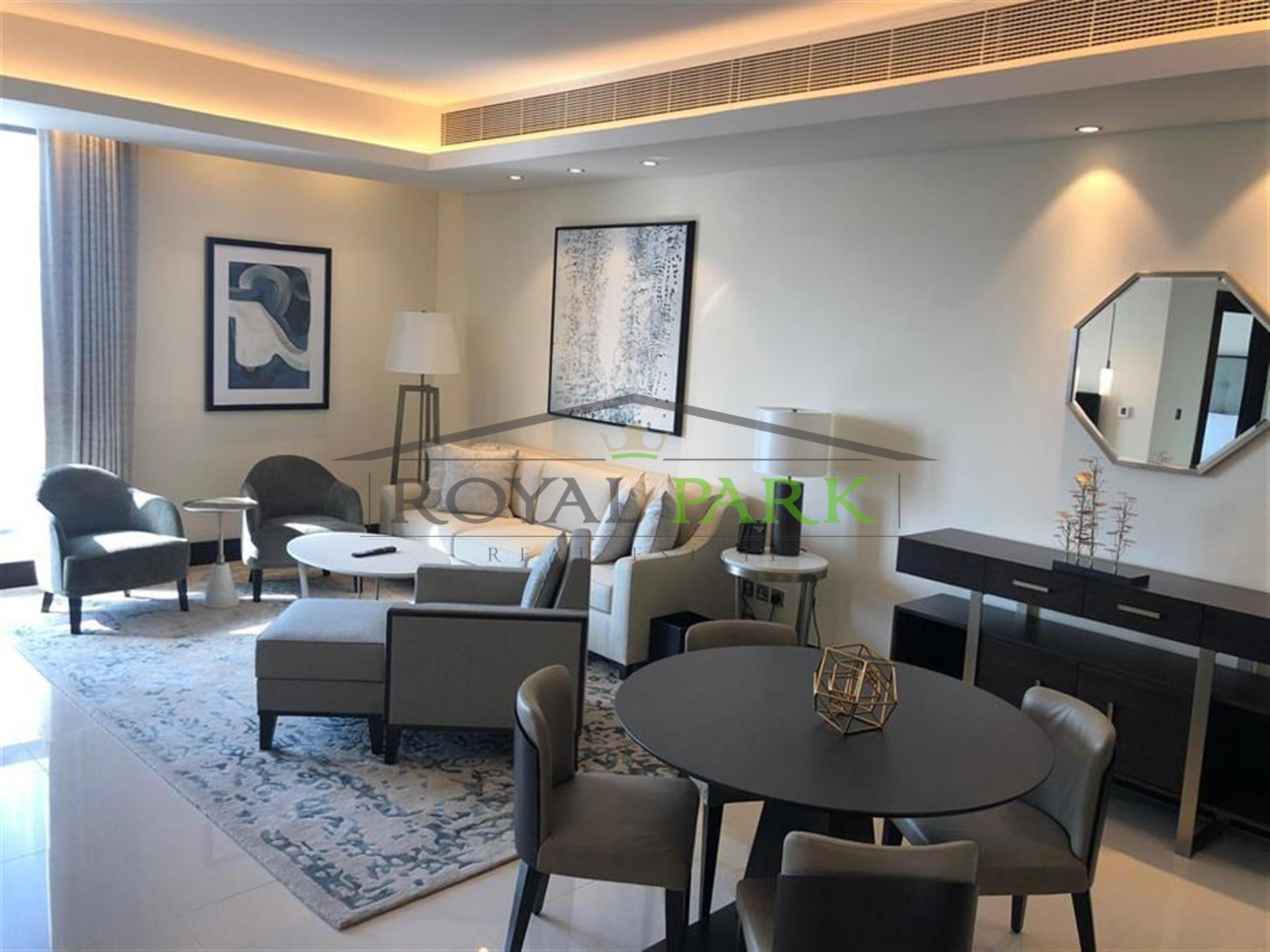 Address Downtown Hotel  Furnished 1bedroom For Rent Burj View