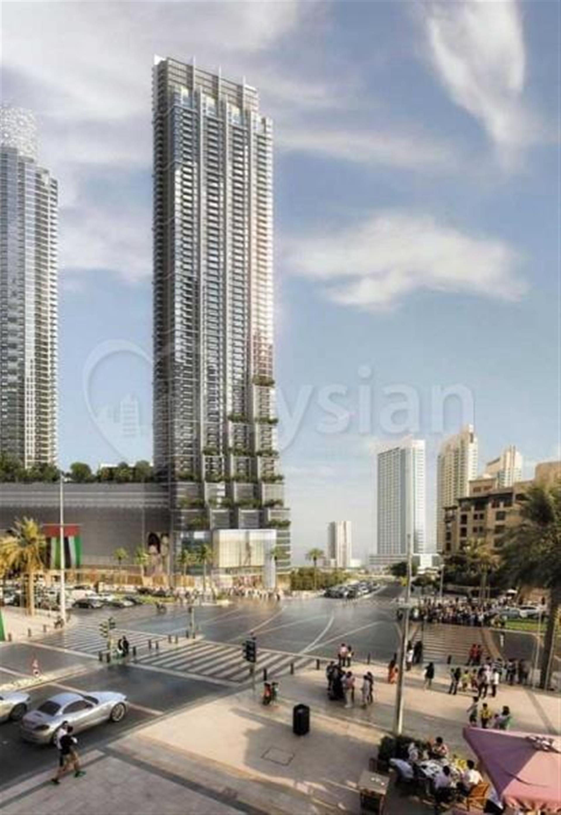 Property - Apartment for sale in Downtown- Dubai - Vida Residence