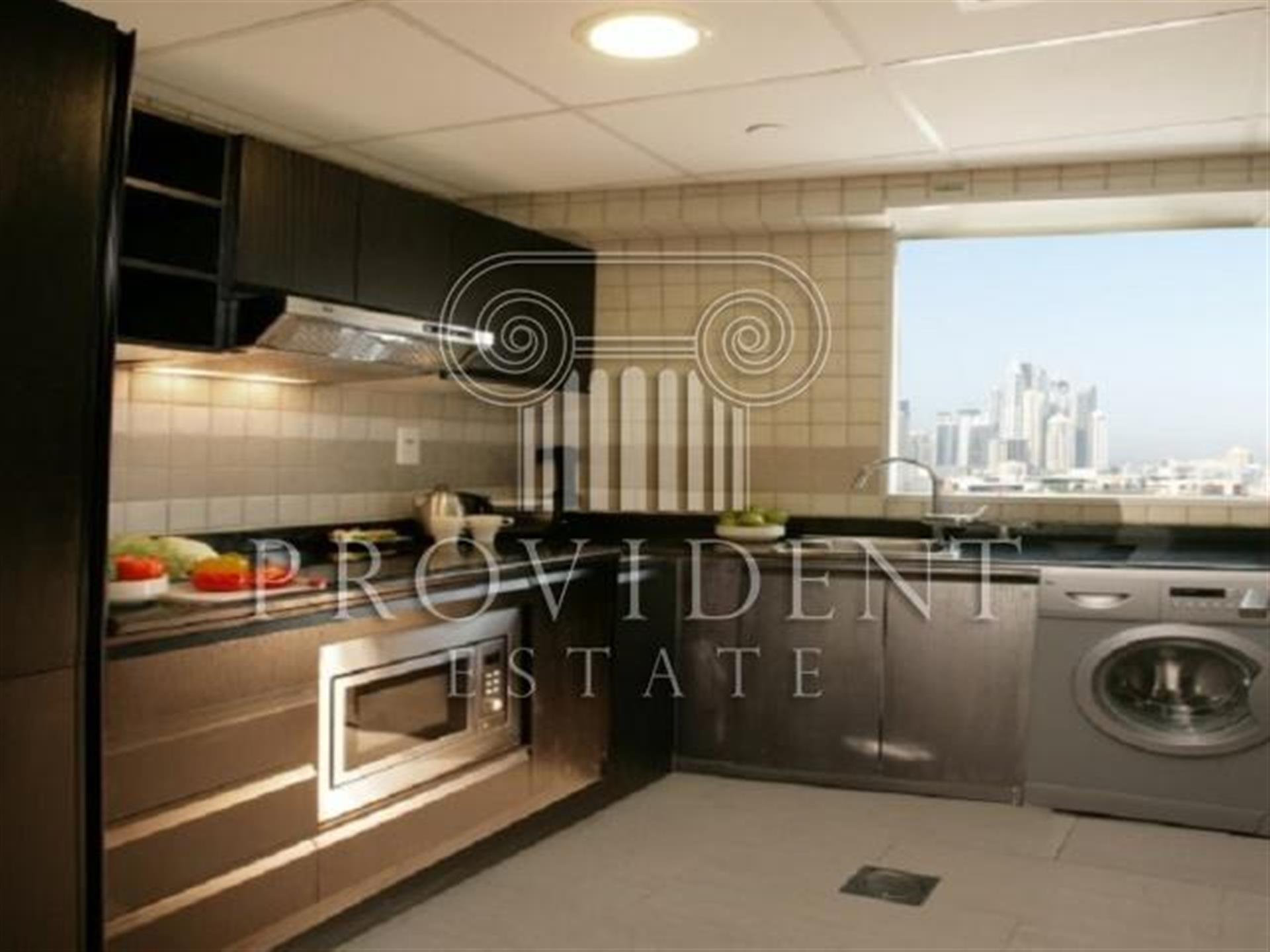 Furnished and Serviced Hotel Suite, High Floor