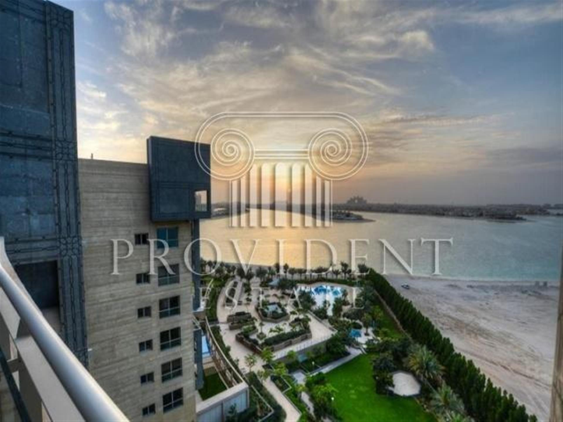 Brand New 2 BR Apartment plus Maids Room in Dream Palm Residence Palm Jumeirah