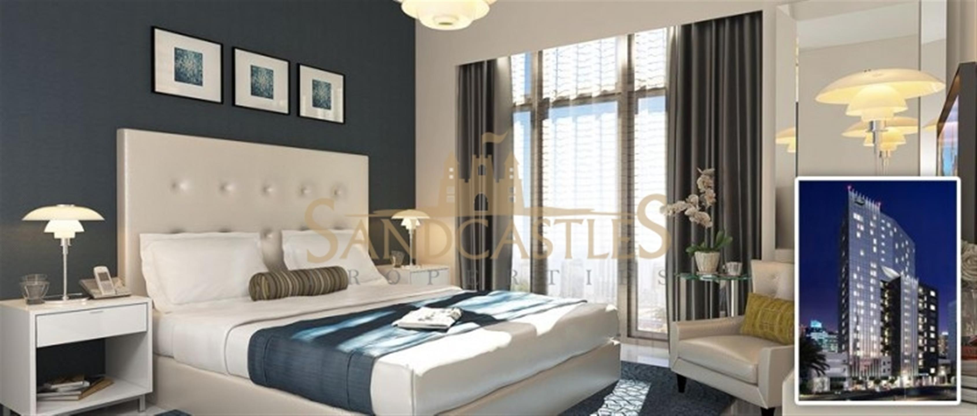 Stunning 2 Bedroom Hotel Apatment With Full Burj View for Sale