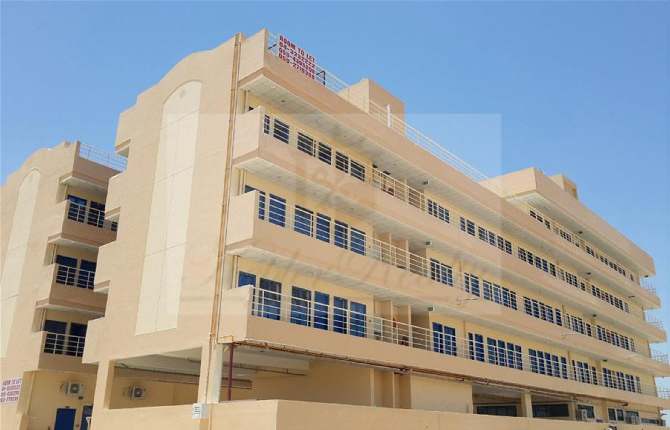 Labour Staff Accommodation  in Jebel Ali Industrial 2.