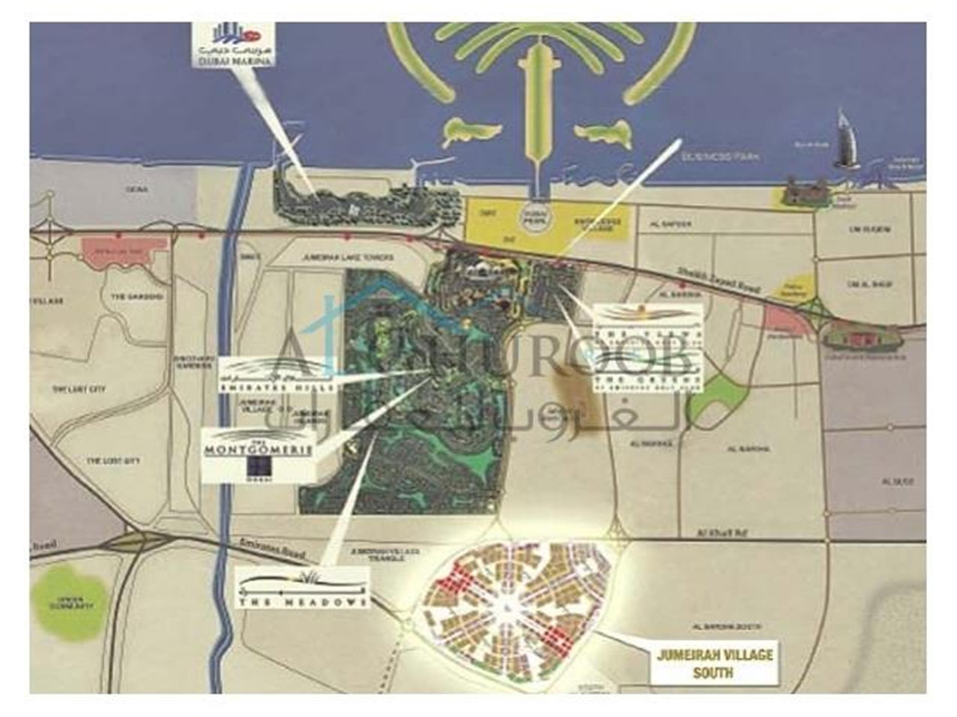 Excellent Residential Plot for Sale in Jumeirah Village Circle the Heart of New Dubai