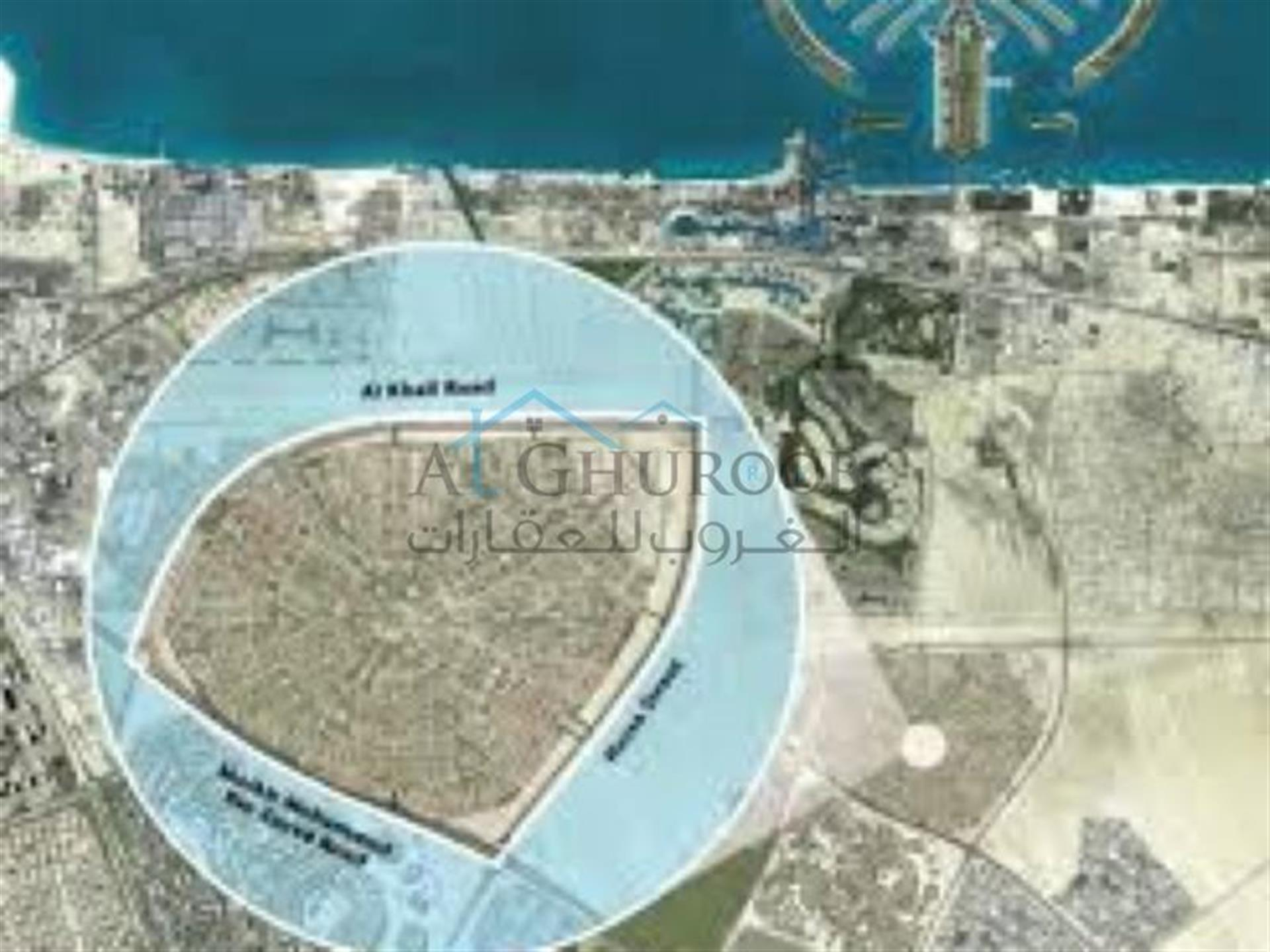 Very Good Location Residential Plot for Sale at the Heart of New Dubai at Jumeirah Village Circle