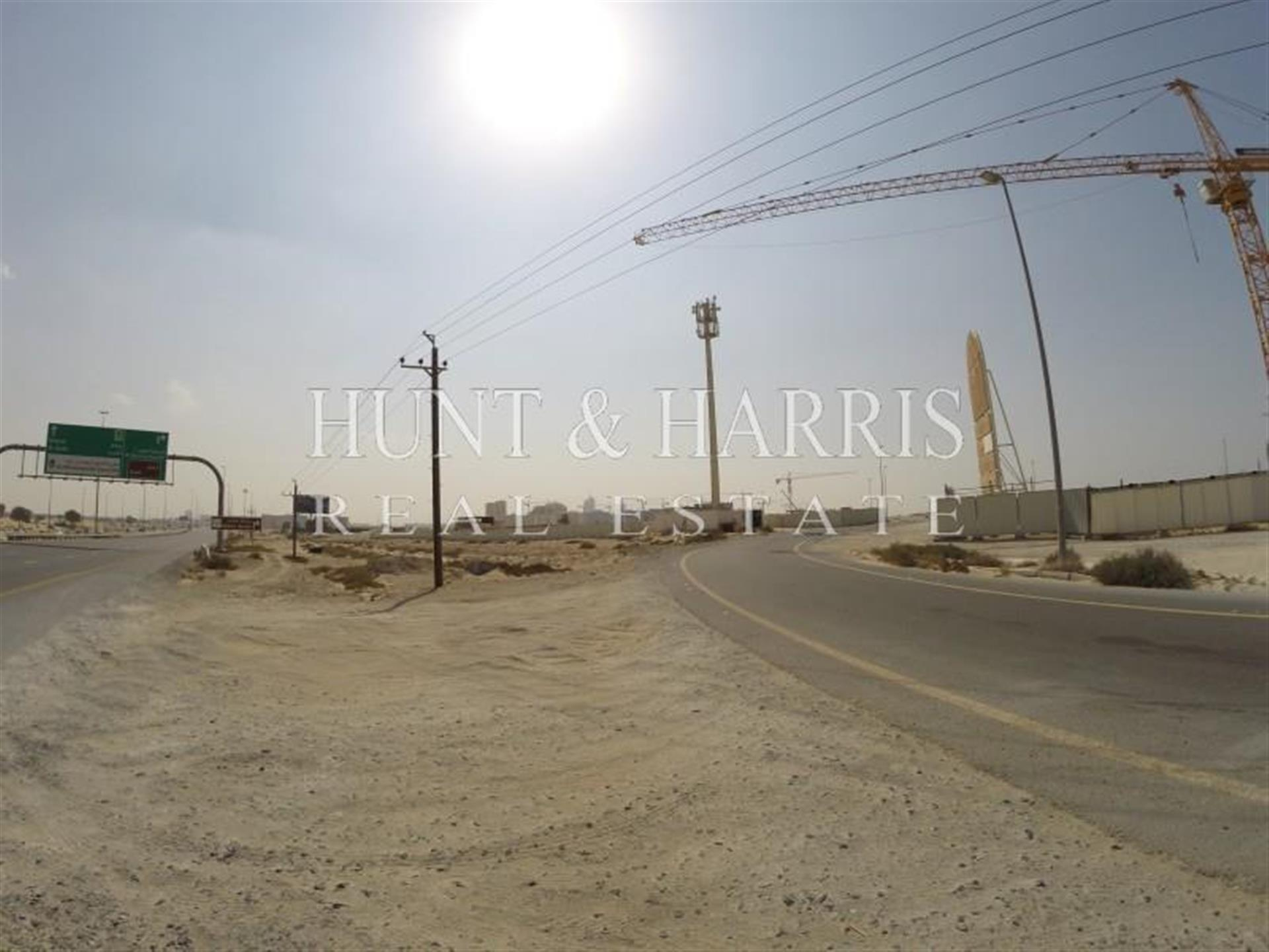 Residential Plot in a Trending Location in Arjan - Corner Plot View over Miracle Gardens- Negotiable