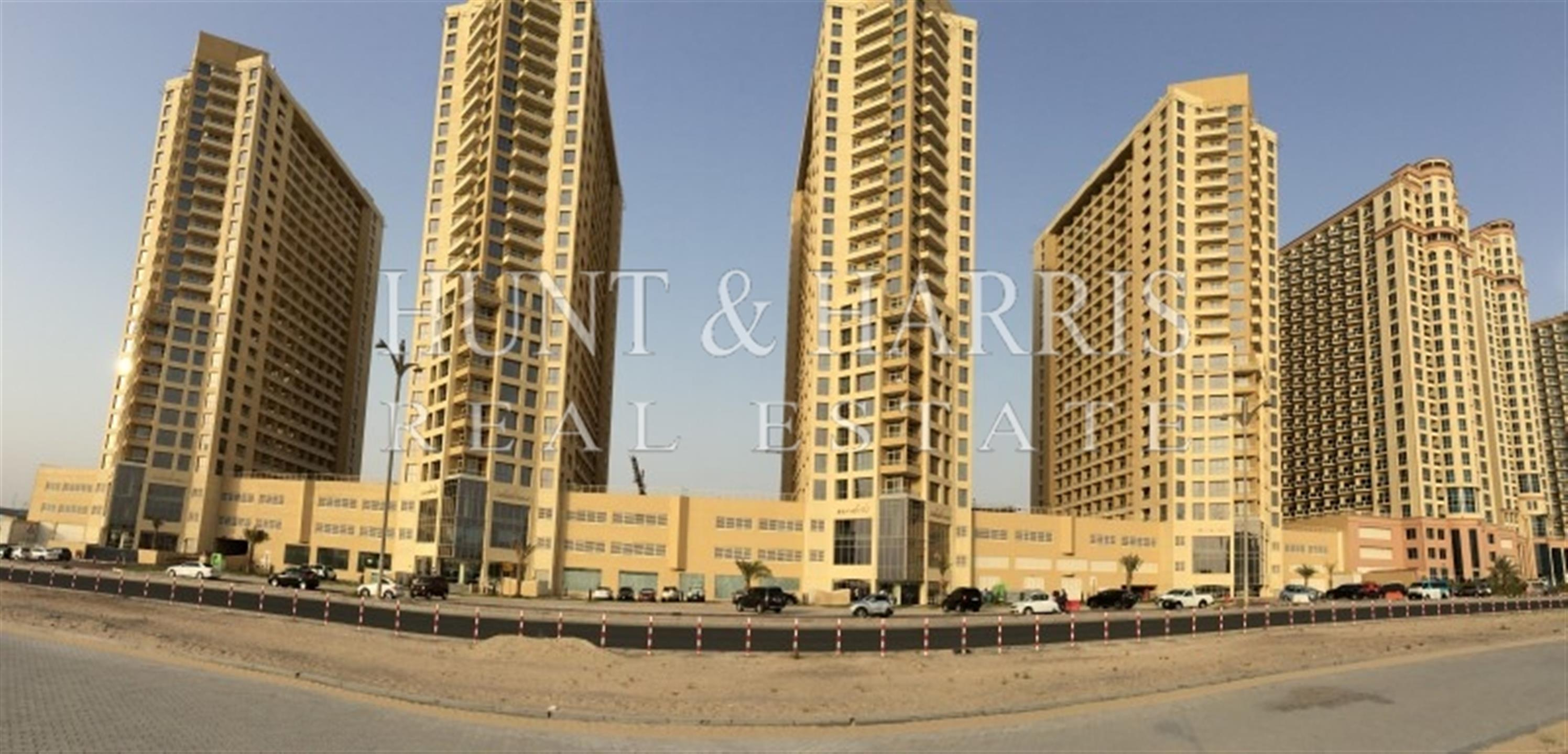 Property - Apartment for rent in IMPZ - Int. Media Prod. Zone- Dubai - Lakeside Tower A