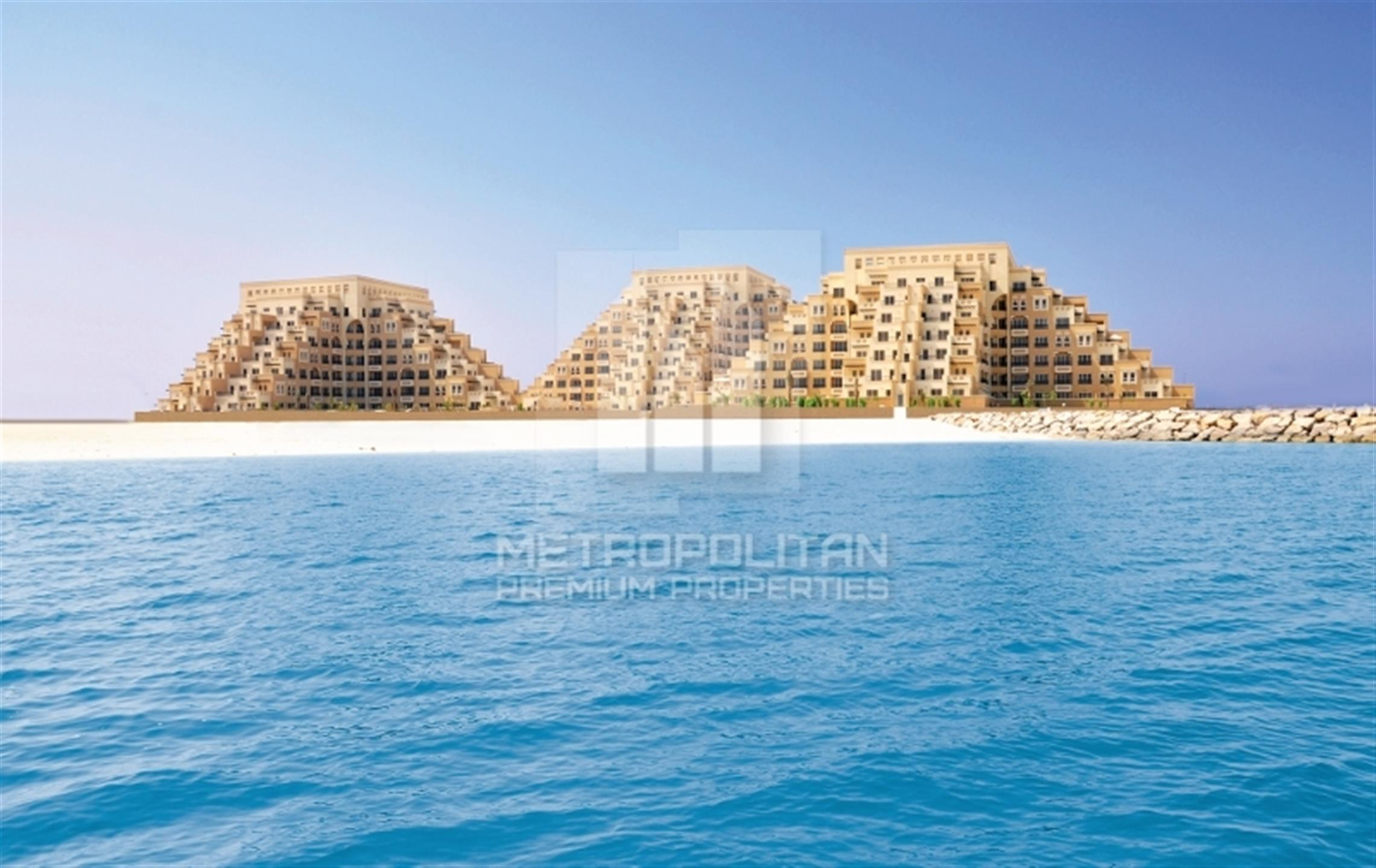 1 BR Apartment, Partial Sea View, Kahraman, Al Marjan Island