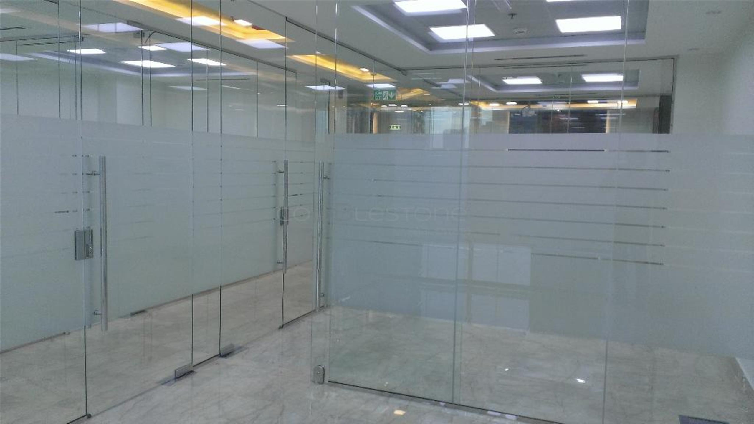 Semi fitted office for rent in Bay Square