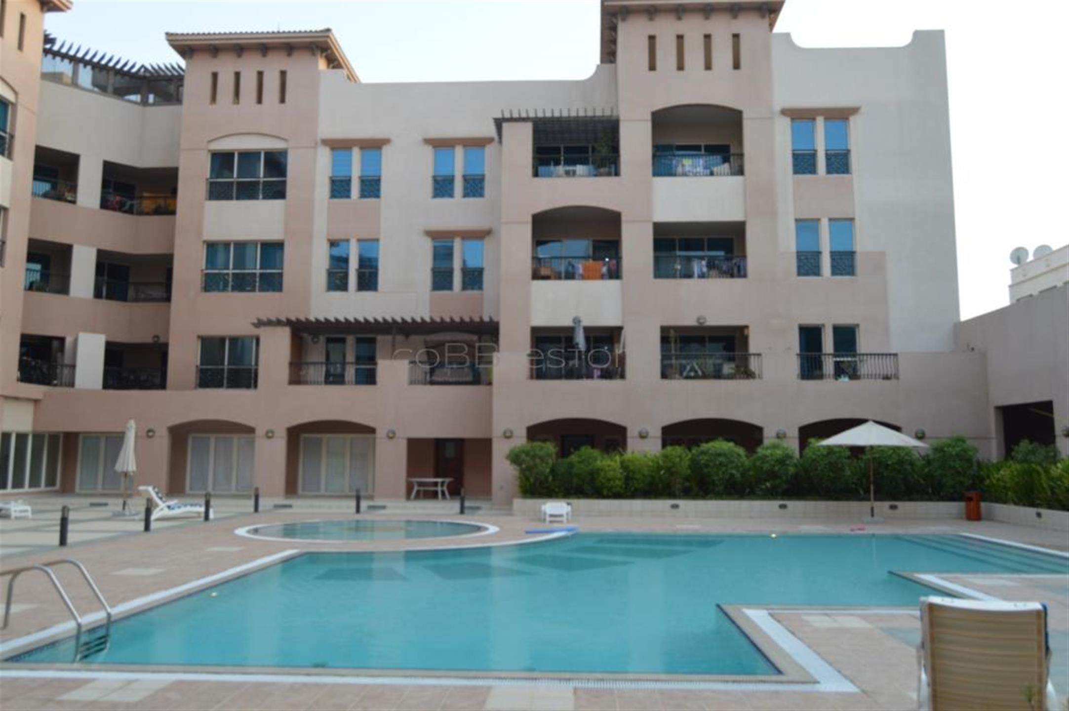 Unfurnished 2 bed in Amber Residency